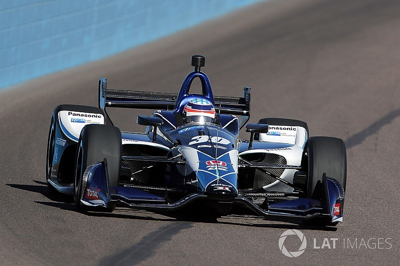 Sato leads Power in third IndyCar test session at Phoenix