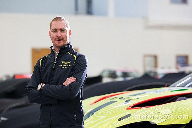 Martin complète le line-up d'Aston Martin pour 2018-19