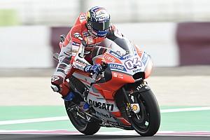 MotoGP Prove libere Losail, Libere 3: Dovi rimane davanti. Rossi cade, Vinales in Q1