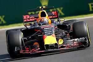 Fórmula 1 Noticias El día de Verstappen es interrumpido para probar partes 2018
