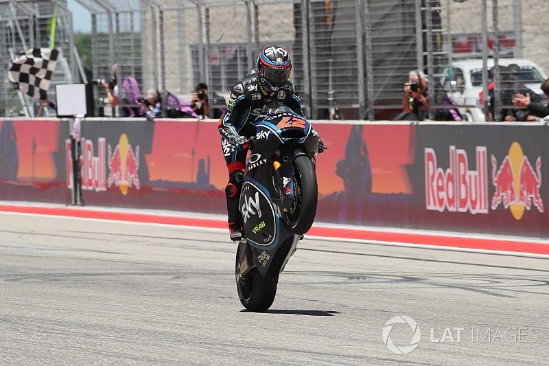 Fotogallery: seconda vittoria in tre gare in Moto2 per Bagnaia ad Austin