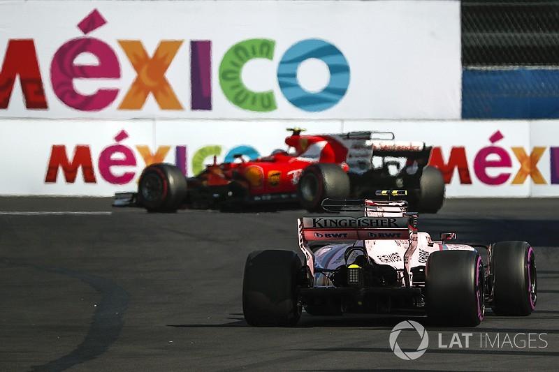 """フォースインディアVSCに翻弄。フェラーリは""""偽ピット準備""""で撹乱!?"""