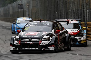 WTCC Race report Macau WTCC: Huff takes record ninth win in wet race