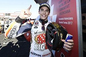 Valencia MotoGP: Marquez seals fourth title in dramatic finale