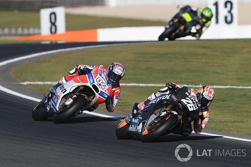 Manufacturers back plan to cut back MotoGP testing