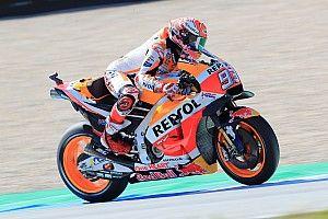 Tertinggal dari Yamaha, Marquez fokus pada balapan