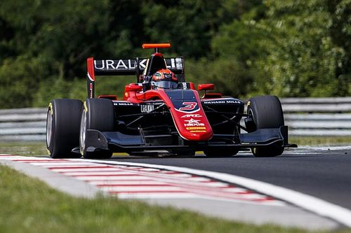 Hungaroring GP3: Mazepin takes dominant feature race win