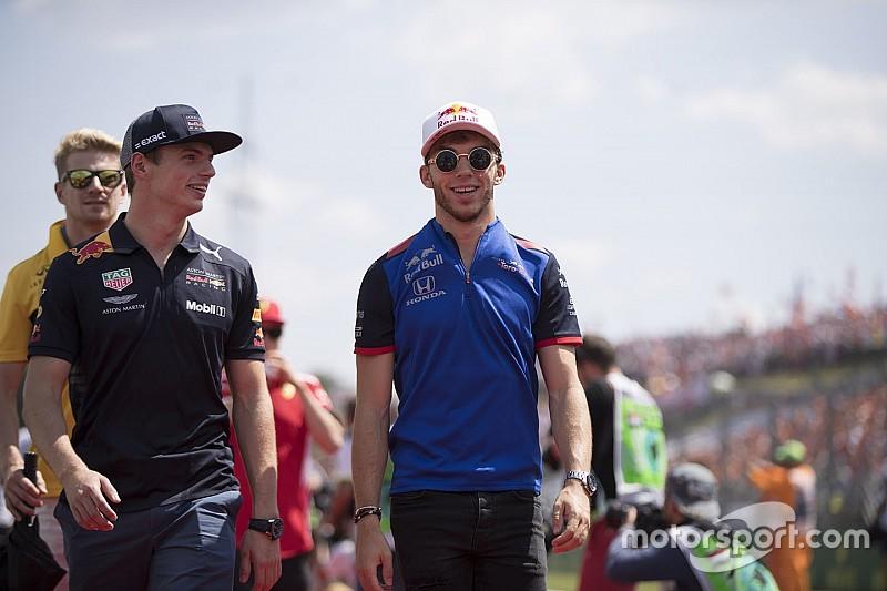 Gasly, Verstappen'le mücadeleye hazır