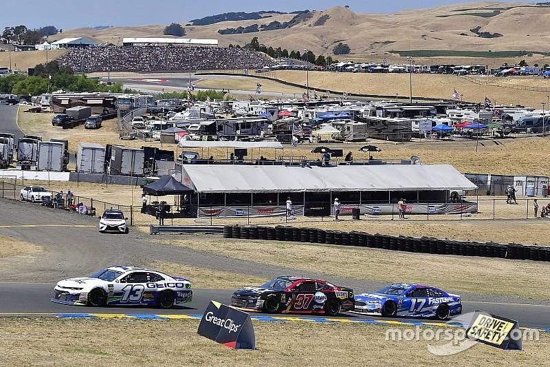NASCAR-Cup fährt 2019 in Sonoma auf der langen Strecke