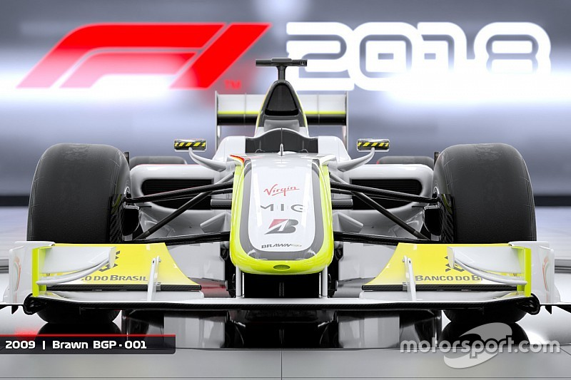 В игре F1 2018 появится чемпионская машина Brawn