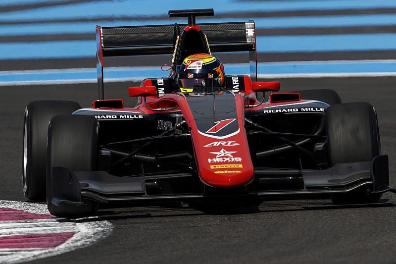 Илотт выиграл спринт GP3 в Ле-Кастелле