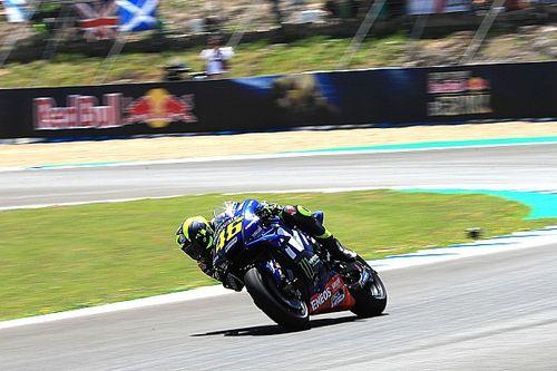 Situation inchangée pour Rossi, en difficulté dans la chaleur