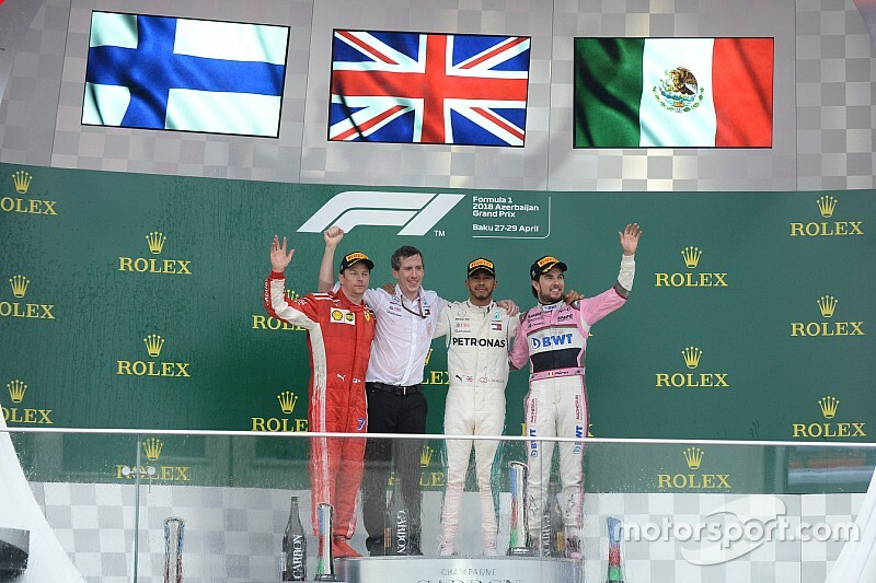 GALERÍA: los podios de los pilotos de la actual parrilla