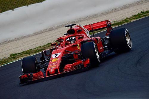 Fotogallery: le immagini più belle della Ferrari SF71H ai test di Barcellona