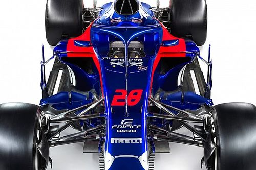 Comparación del Toro Rosso STR12 vs. STR13