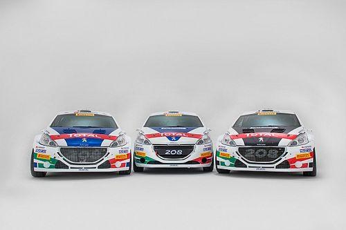 Fotogallery: ecco le Peugeot ufficiali per il CIR 2018
