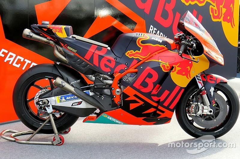 KTM показала мотоцикл MotoGP для сезона-2018