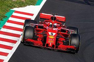 Vettel pulveriza el récord en la penúltima mañana de test