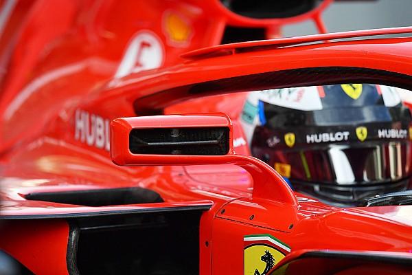 Formel 1 News Formel-1-Rückspiegel ab sofort am Halo erlaubt
