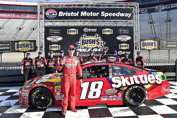 NASCAR Cup Kyle Busch e Kurt Busch monopolizzano la prima fila a Bristol