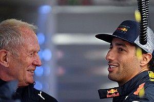 """Ricciardo heeft bijzonder advies voor Perez: """"Knuffel hem eens"""""""