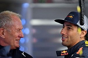 El consejo de Ricciardo a Sergio Pérez para tratar con Marko