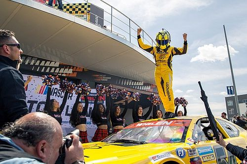 Alon Day scores NASCAR Euro Series win in season opener