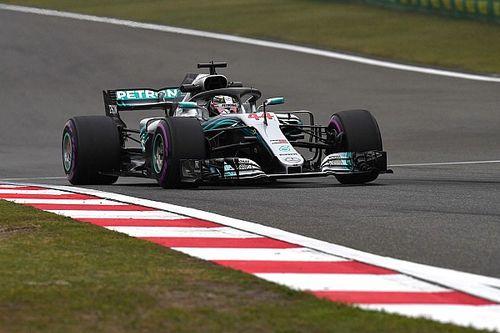 Mercedes y Ferrari, casi igualados en el viernes de China