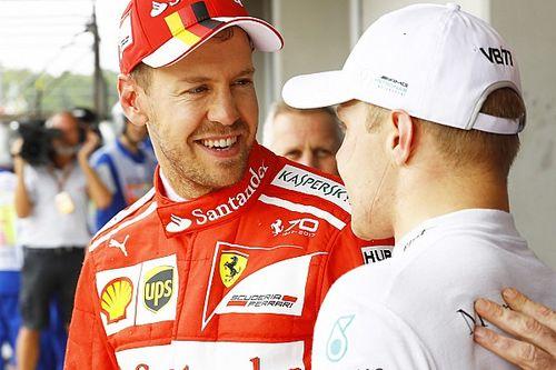 """Vettel: """"La pole? Sono stato timido. Domani possiamo vincere"""""""
