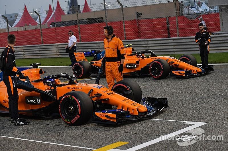 Comparación entre compañeros de equipo en la temporada 2018 de F1