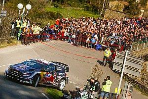 WRCフランス:オジェ初日好発進。2番手ヌービルに33秒差