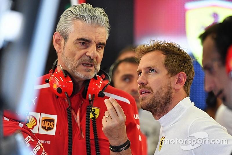 Sebastian Vettel no es el jefe de Ferrari, enfatiza Arrivabene