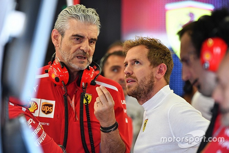 Os números da passagem de Maurizio Arrivabene pela chefia da Ferrari