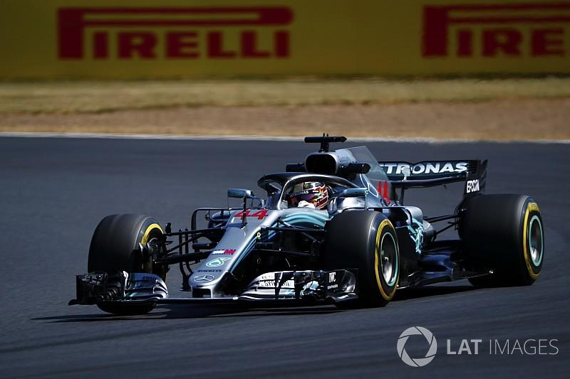 """Hamilton bluffé à Silverstone : """"Comme un avion de chasse"""""""
