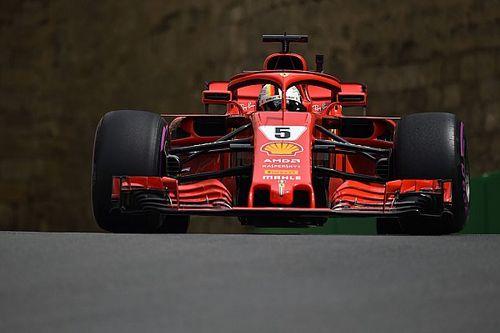 Vettel lidera último treino livre do GP do Azerbaijão