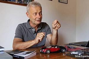 Piloto de testes da Bugatti conta como bateu um Veyron a 400 km/h