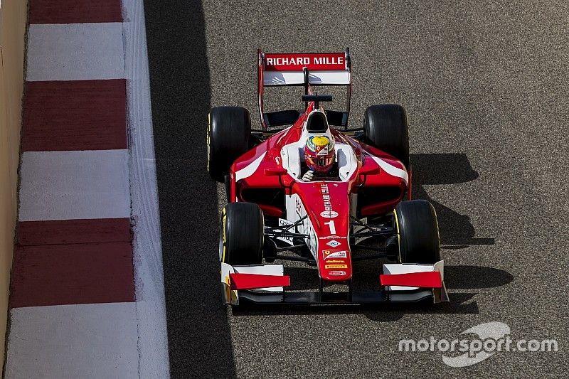 F2 Abu Dhabi: Leclerc pakt discutabele maar briljante overwinning