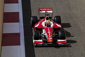 FIA F2 Race report Abu Dhabi F2: Leclerc passes Albon on final lap to win