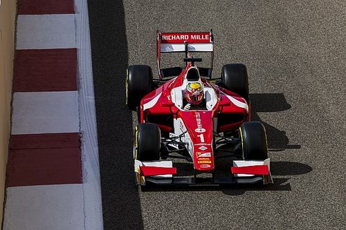 Abu Dhabi F2: Leclerc passes Albon on final lap to win
