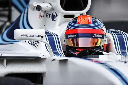 """Kubica : """"Je ne pilote pas avec une seule main!"""""""