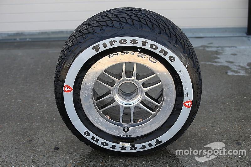 Firestone apresenta novo pneu de chuva da Indy