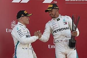 Formel 1 News Bottas lobt Verhältnis zu Hamilton: