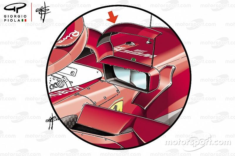 Ferrari: lo specchietto con il flap non è legale: via da Monaco!