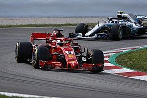Vettel admite que su única opción era dos detenciones en pits
