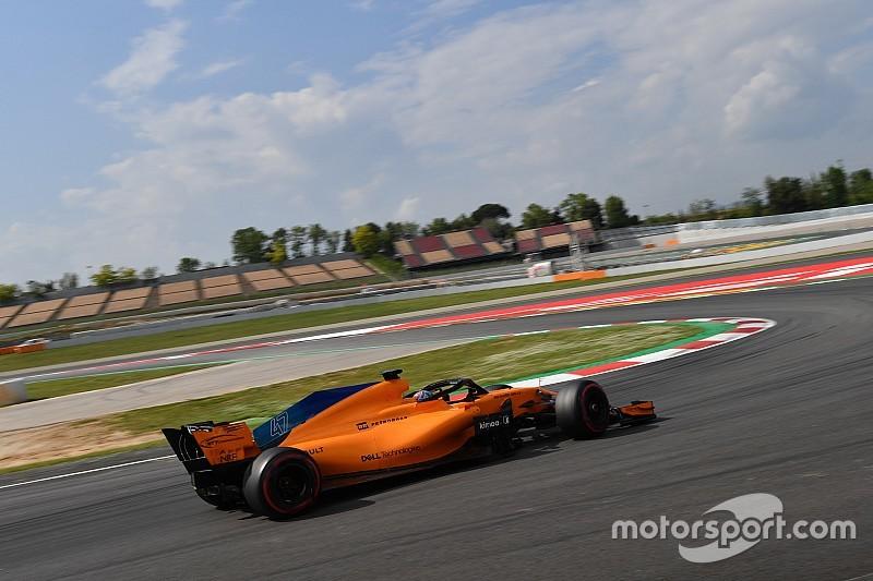 """Norris señala las mejoras y el punto débil del """"nuevo"""" McLaren"""