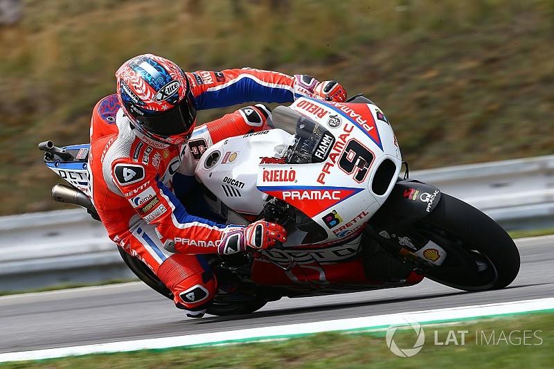 Pramac: Petrucci proverà la nuova carena Ducati nelle Libere 3 di Brno