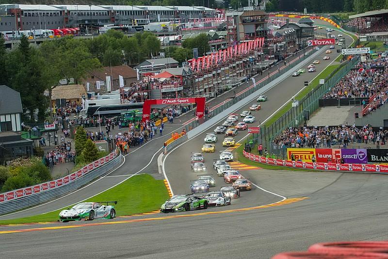 24h Spa 2018: Teilnehmerliste mit 68 Fahrzeugen