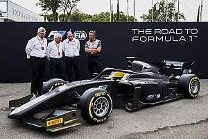 FIA F2 Breaking news Formula 2 unveils 2018 car with Halo