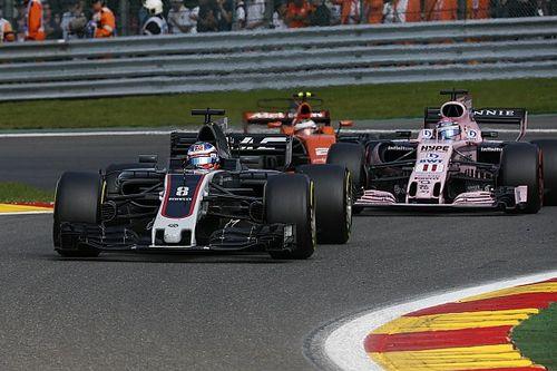 Romain Grosjean vom Haas-Comeback beim F1-Rennen in Spa überrascht