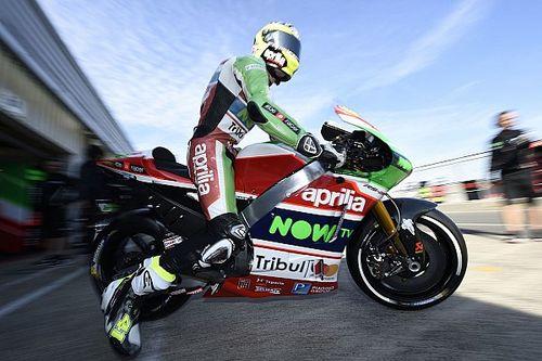 Алеш Эспаргаро призвал Aprilia добиться прогресса – или уйти из MotoGP